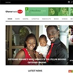 Client: Ghana Music UK - Music Portal