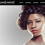 Client: Purely Natural Hair - Hair Salon